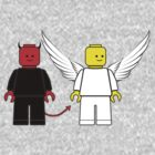 Heaven and Hell - Lego Minifigs by redsushi1