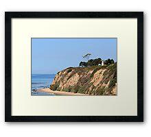Santa Barbara Lighthouse, CA Framed Print
