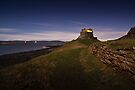 Lindisfarne Castle by David Lewins