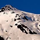 Snow Covered Peak by HouseofSixCats