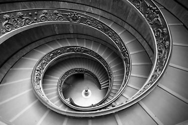 Michelangelo's stairs by Christophe Testi