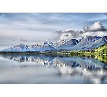 Somewhere near Haines, AK. Photographic Print