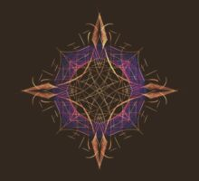Fractal Compass by Leah McNeir