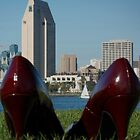 Shoes in the City by Diana Mankowski