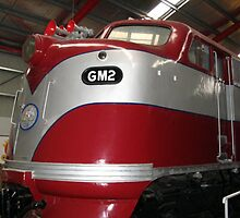 GM2  Diesel Engine...Port Adelaide Train Museum by glennmp