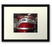 GM2  Diesel Engine...Port Adelaide Train Museum Framed Print