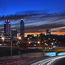 Perth City At Dusk  by EOS20