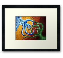 God Created the Heaven and the Earth Framed Print