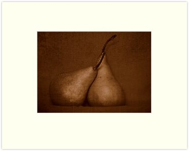 Pears in Sepia by Kitsmumma