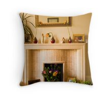 Keep Homefires Burning: The Heart of the Home Throw Pillow