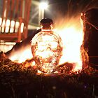 Crystal Skull Camp Fire by John Windsor