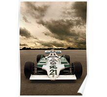 Williams FW07 Poster