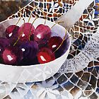 Bowl Of Cherries by LuciaM