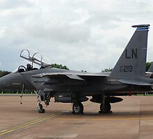 F-15 Strike Eagle by imageworld