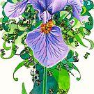 Iris  by sadeyedartist