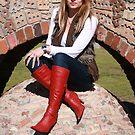 Tanya at Brickworks Park by Cathie Brooker