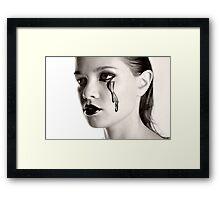 Dark Gloss Framed Print
