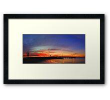 Applecross At Sunset  Framed Print