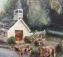 Chapel at Blackberry Farm Hotel, Walland, TN, Smoky Mountains by JeffeeArt4u