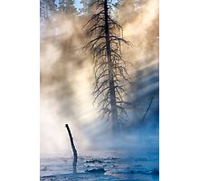 Fountain Paintpots, Yellowstone National Park, USA. Photographic Print