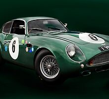 Aston Martin DB4GT Zagato '1 VEV' by Paul Woloschuk