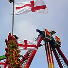 Fairground Flags by Mel Preston
