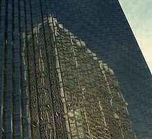 Toronto Skyscraper Reflection  by DMHImages