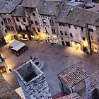 San Gimignano dal palazzo torre II by Eyal Geiger