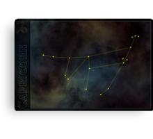 Capricorn zodiac Canvas Print