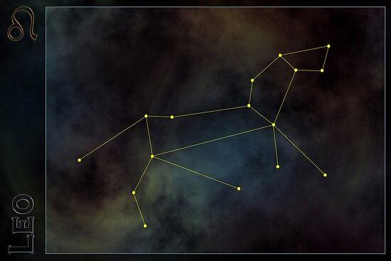 Leo zodiac by 4Seasons
