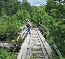 Man on the Bridge by KeithMaki