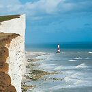 Beachy Head Lighthouse by DonDavisUK