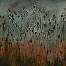 teasel field by Jeremy Wallace