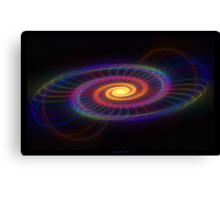 """""""Of Circles & Spirals"""" - Fractal Art Canvas Print"""