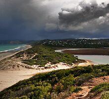 Coastal Storm,Airey's Inlet,Great Ocean Road. by Darryl Fowler