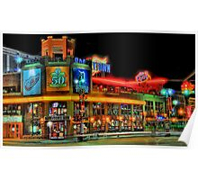 Hockeytown Cafe Baby Poster