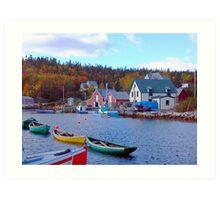 North West Cove Art Print