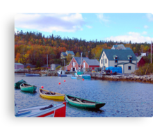North West Cove Canvas Print