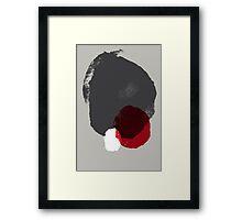 Made of Stone Framed Print