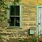 Window and door, abandoned house, South Thomaston, Maine by fauselr