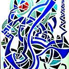 blue maze by drseershot