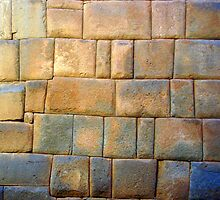 Perfect Stone Wall by Haydee  Yordan