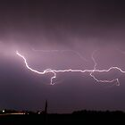 Lightening storm by chwells