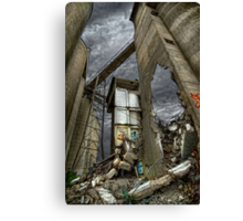 Bomb Site Canvas Print
