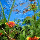 Flower and Water by sadeyedartist