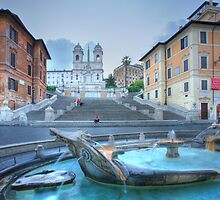 Spanish Steps by Christophe Testi