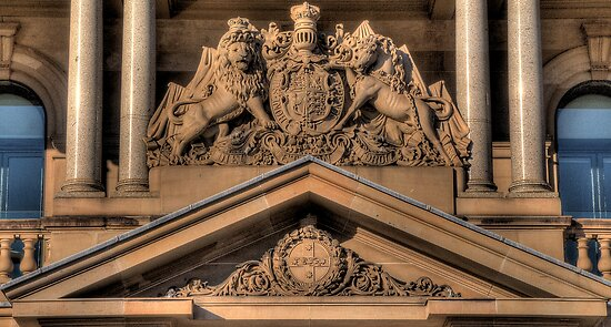 Customs House (c1844), Sydney - The HDR Experience by Philip Johnson