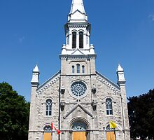 St. Columban's Parish Church, Cornwall, Ontario. 1899. by Mike Oxley