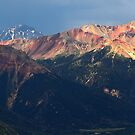 The Red Mountains, Colorado by Tamas Bakos