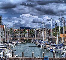 Michiel de Ruyter-harbour Vlissingen, Netherlands by PhotoAmbiance
